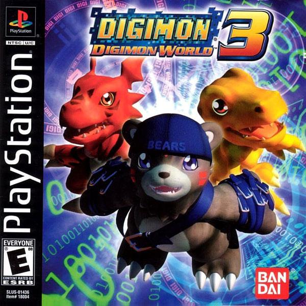 Evoluciones Digimon world 3 Ps1